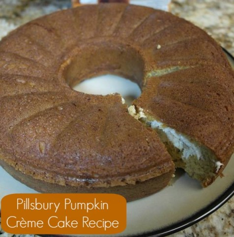 Pillsbury Pumpkin Creme Cake 1