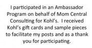 #Kohls #Fashion #Ambassador #MC #sponsored