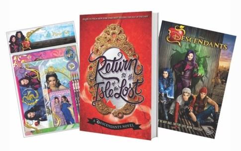 #DisneyDescendants #Disney #Books #Giveaway #ad