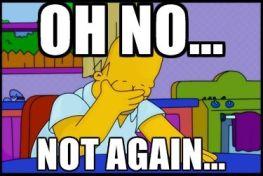 Homer Not Again