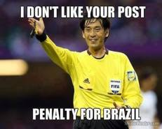 Yellow Card for Brazil
