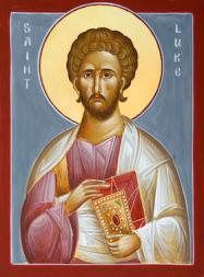 Saint Luke icon