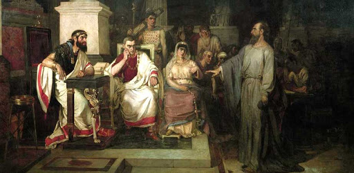 King Agrippa; Berenice;  Proconsul Festus