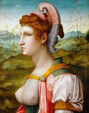 Sibyl by Francesco Ubertini, c. 1525