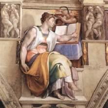 Erythraean Sibyl, Michelangelo