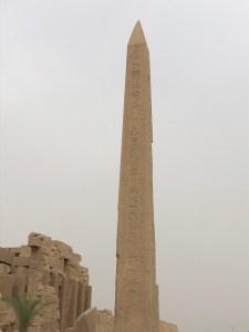 Egyptian Obelisk at Karnak
