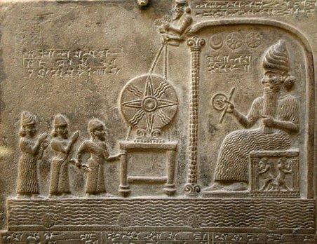 Babylonian king Nabu-apla-iddina (888-855 BC)