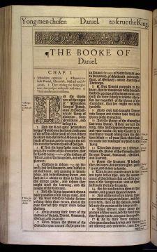 Old Bible Daniel