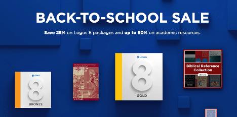Logos Back to School Sale