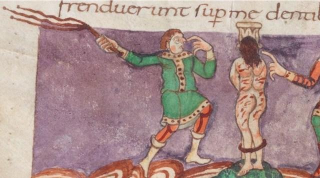 Flogging Jesus Medieval