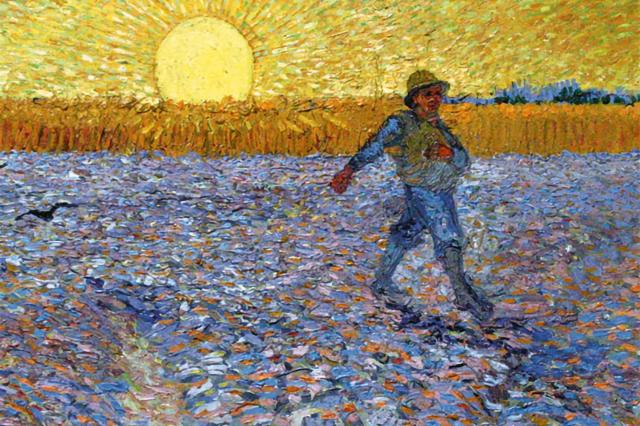 parable of the sower Van Gogh