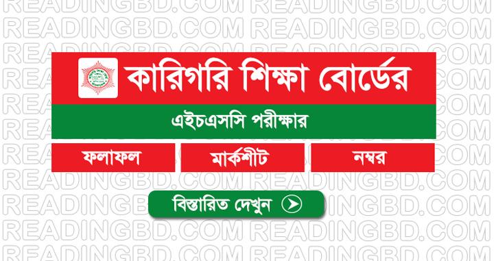 Bangladesh Technical Education Board HSC Result 2019
