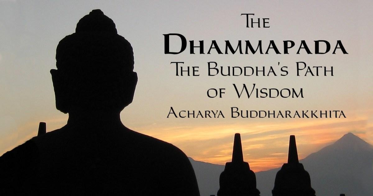 Cover of the Dhammapada translated by Acharya Buddharakkhita