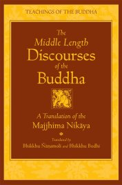Majjhima Nikaya Middle Length Discourses of the Buddha by Bhikkhu Bodhi Reading