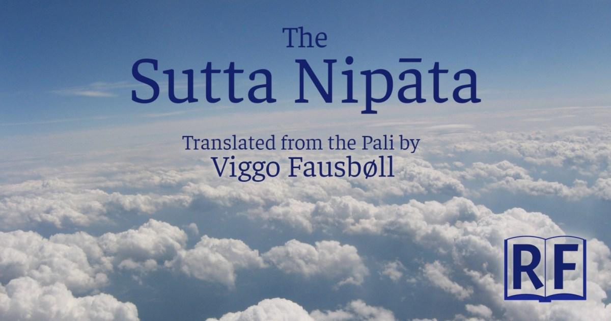 Sutta Nipata: translated by Viggo Fausböll, Free Kindle, Epub