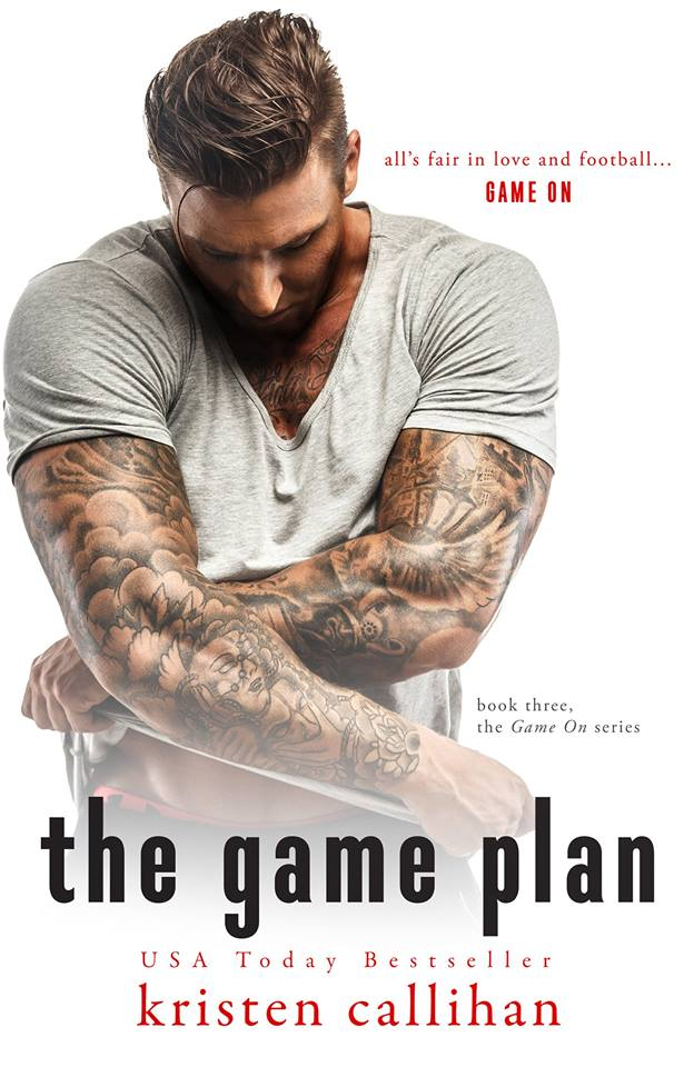 Cover Reveal: The Game Plan by Kristen Callihan
