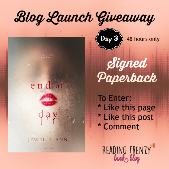 Blog Launch Giveaway ★ Day 3