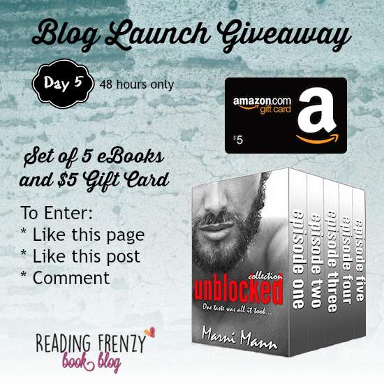 Blog Launch Giveaway ★ Day 5