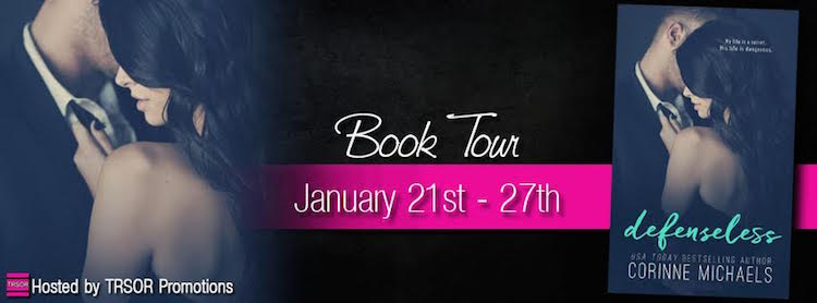 Blog Tour & Review ♥ Defenseless by Corinne Michaels