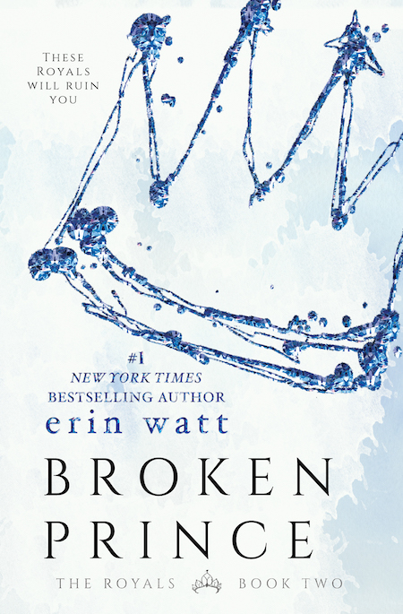 Cover Reveal ♥ Broken Prince by Erin Watt