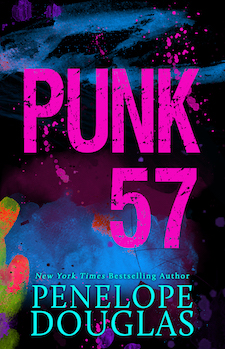 Cover Reveal & Giveaway ♥ Punk 57 by Penelope Douglas