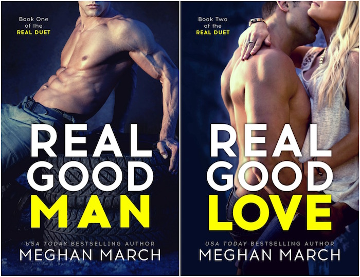 Double Cover Reveal ♥ The Real Duet by Meghan March