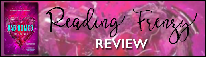 Bad Romeo review banner