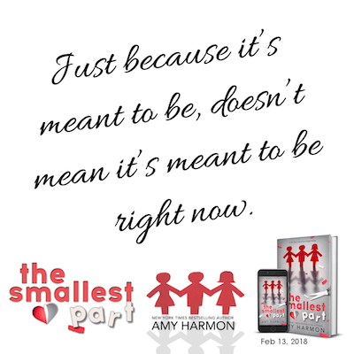 New Release: The Smallest Part by Amy Harmon