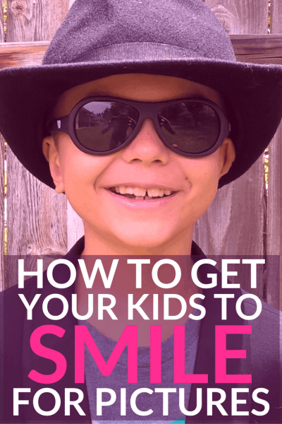 Is getting your children to pose for photos an uphill struggle? Discover the one question guaranteed to make them smile every single time. Plus 5 things to make your kids grin. How to host a family standup comedy night to remember. And FREE printables. Smile!