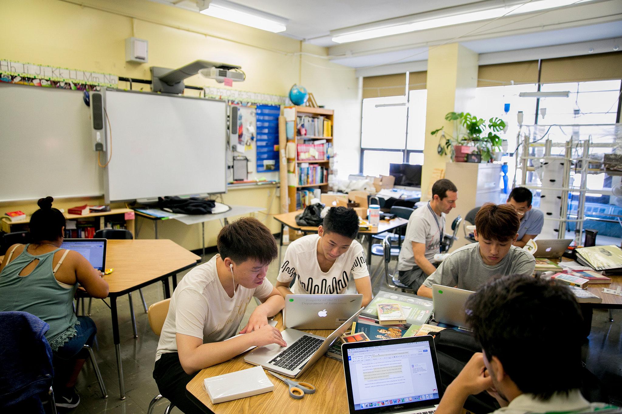 A New Kind Of Classroom No Grades No Failing No Hurry