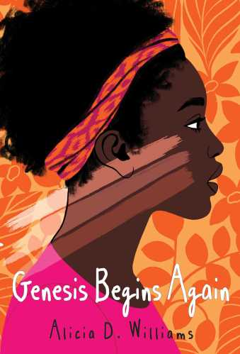 cover of middle grade book, Genesis Begins Again