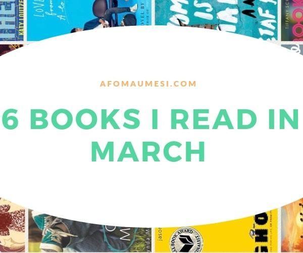 The 16 Books I Read in March