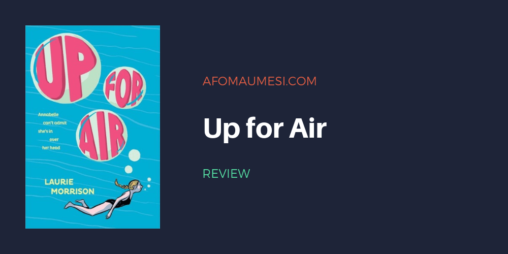 up for air laurie morrison review