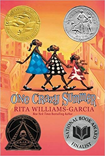 Middle-Grade Books about sisters - one crazy summer