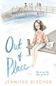 cover of out of place by jennifer blecher