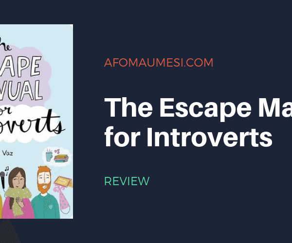 Bite-Sized Review | THE ESCAPE MANUAL FOR INTROVERTS