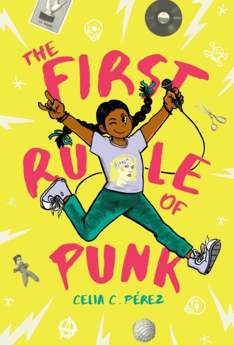 books for seventh graders - the first rule of punk