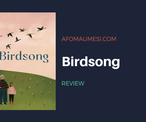 PICTURE BOOK FRIDAY: BIRDSONG