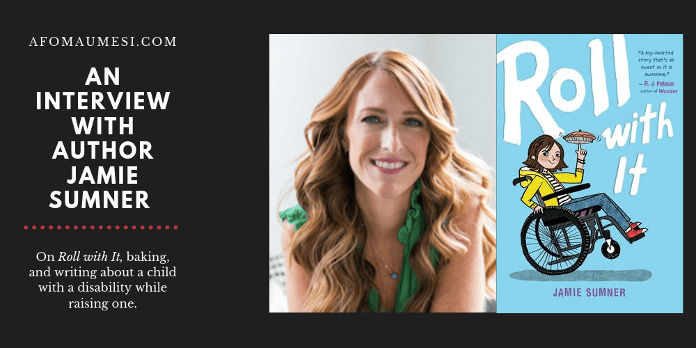 interview with author of roll with it, jamie sumner