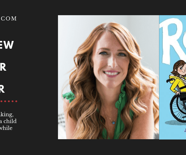 Author Jamie Sumner on Her Middle-Grade Debut, ROLL WITH IT, Baking, and Writing About a Child with a Disability While Raising one.