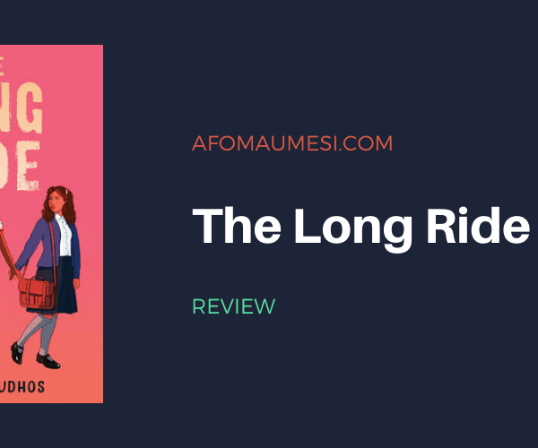REVIEW | The Long Ride by Marina Tamar Budhos
