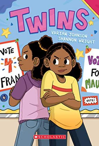 twins - middle-grade book about twin sisters