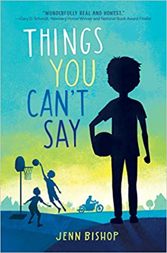 things you can't say jenn bishop - best middle-grade books for boys