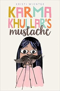 best middle-grade books about friendships- karma khullar's mustache