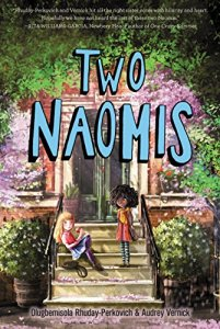 best middle-grade books about friendships - two naomis