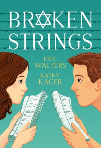 best middle-grade books about music and musical theater - broken strings