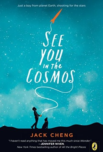 Best Middle-Grade Book for Boys about space - see you in the cosmos