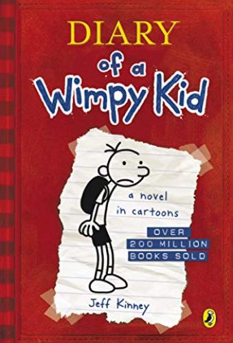 Diary of a Wimpy KId - best middle-grade graphic novels