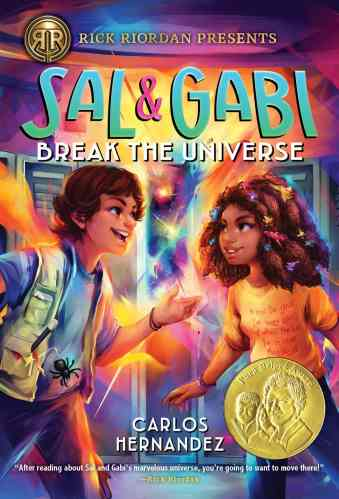 Sal and Gabi Break the Universe - best latino middle-grade books