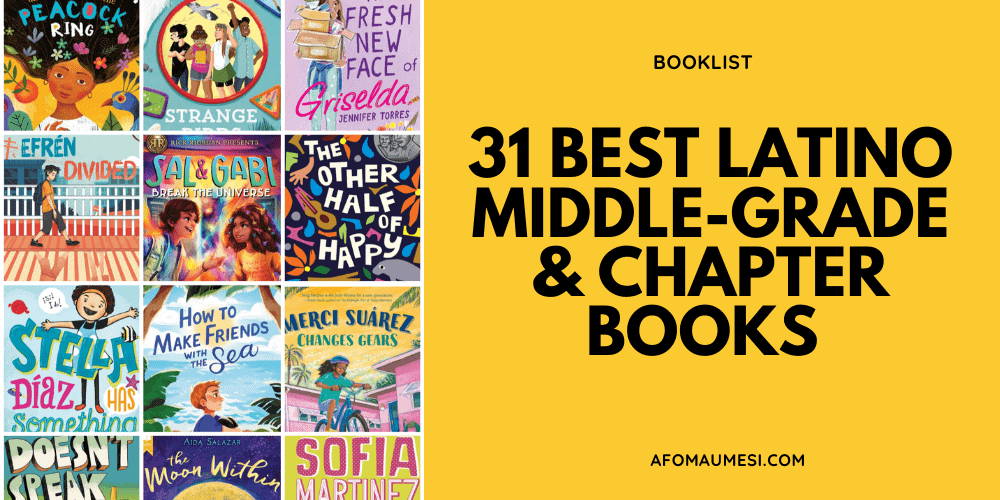 best latino middle-grade books - by latino authors